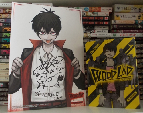 dédicace bloodlad